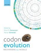 Cover for Codon Evolution
