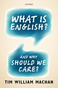 Cover for What is English?