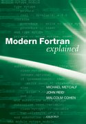 Cover for Modern Fortran Explained
