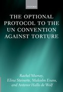 Cover for The Optional Protocol to the UN Convention Against Torture