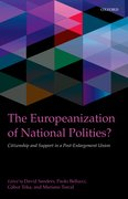 Cover for The Europeanization of National Polities?