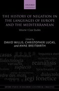 Cover for The History of Negation in the Languages of Europe and the Mediterranean