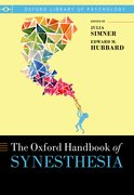 Cover for Oxford Handbook of Synesthesia