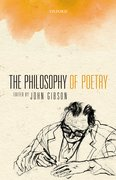 Cover for The Philosophy of Poetry