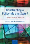 Cover for Constructing a Policy-Making State?