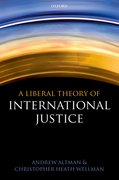 Cover for A Liberal Theory of International Justice