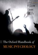 Cover for Oxford Handbook of Music Psychology