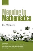 Cover for Meaning in Mathematics