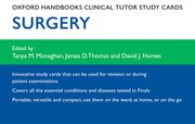 Cover for Oxford Handbooks Clinical Tutor Study Cards: Surgery