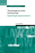 Cover for The Emergence of EU Contract Law