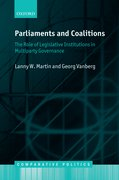 Cover for Parliaments and Coalitions