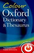 Cover for Colour Oxford Dictionary & Thesaurus