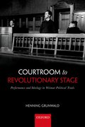 Cover for Courtroom to Revolutionary Stage