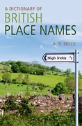 Cover for A Dictionary of British Place-Names