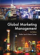 Cover for Global Marketing Management