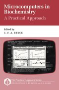 Cover for Microcomputers in Biochemistry: A Practical Approach