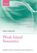 Cover for Weak Island Semantics