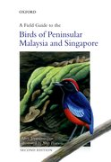 Cover for A Field Guide to the Birds of Peninsular Malaysia and Singapore