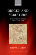Cover for Origen and Scripture