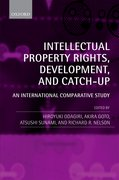 Cover for Intellectual Property Rights, Development, and Catch Up