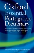 Cover for Oxford Essential Portuguese Dictionary