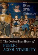 Cover for The Oxford Handbook of Public Accountability