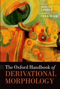 Cover for The Oxford Handbook of Derivational Morphology