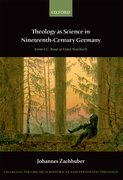Cover for Theology as Science in Nineteenth-Century Germany