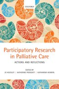 Cover for Participatory Research in Palliative Care