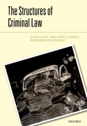 Cover for The Structures of the Criminal Law