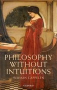 Cover for Philosophy without Intuitions