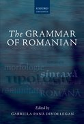 Cover for The Grammar of Romanian