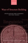 Cover for Ways of Structure Building