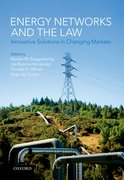 Cover for Energy Networks and the Law