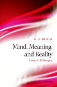 Cover for Mind, Meaning, and Reality