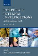 Cover for Corporate Internal Investigations
