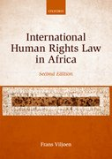 Cover for International Human Rights Law in Africa