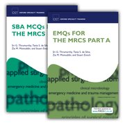 Cover for SBA MCQs and EMQs for the MRCS Part A Pack