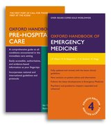 Cover for Oxford Handbook of Emergency Medicine and Oxford Handbook of Pre-Hospital Care Pack