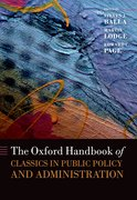 Cover for The Oxford Handbook of Classics in Public Policy and Administration
