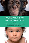Cover for Foundations of Metacognition