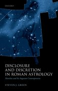 Cover for Disclosure and Discretion in Roman Astrology