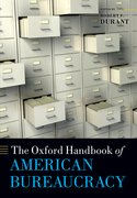 Cover for The Oxford Handbook of American Bureaucracy