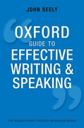 Cover for Oxford Guide to Effective Writing and Speaking