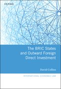 Cover for The BRIC States and Outward Foreign Direct Investment