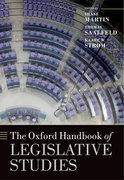 Cover for The Oxford Handbook of Legislative Studies