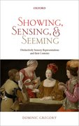 Cover for Showing, Sensing, and Seeming