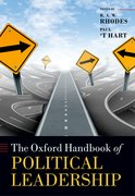Cover for The Oxford Handbook of Political Leadership
