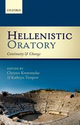 Cover for Hellenistic Oratory