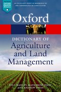 Cover for A Dictionary of Agriculture and Land Management